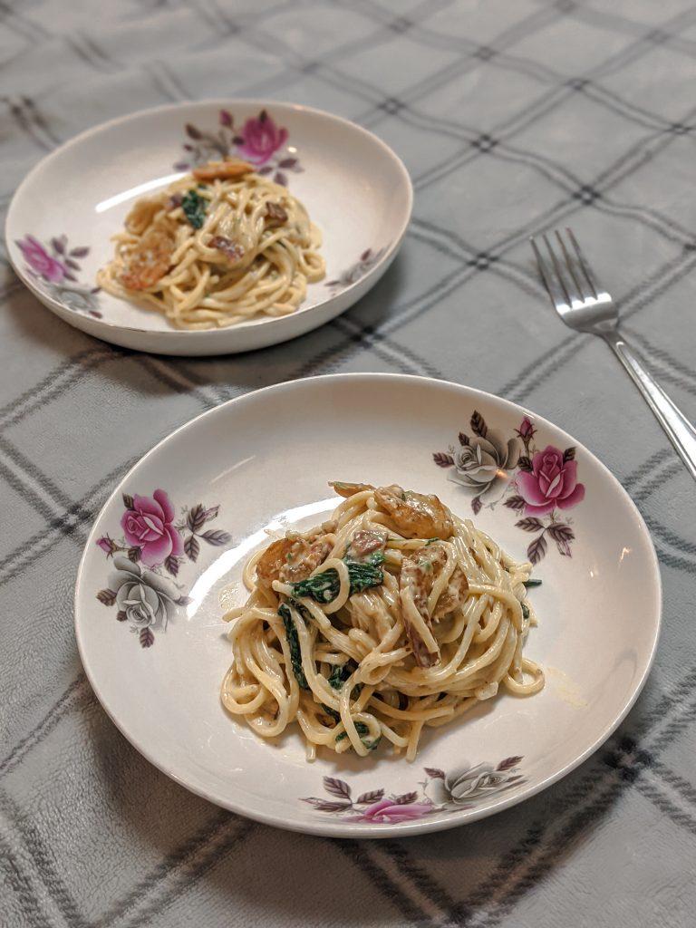 Spaghetti Alfredo Pasta Recipe